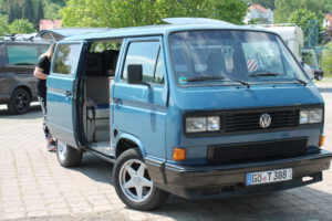 Der 1988er Multivan - ein treuer Begleiter