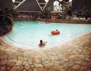 Das Badeparadies im Südsee-Camp