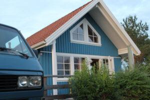Anstatt Bulli und Zelt: Schwedenhaus